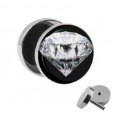 Motiv Fake Plug - Diamant