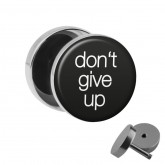 Motiv Fake Plug - don\'t give up